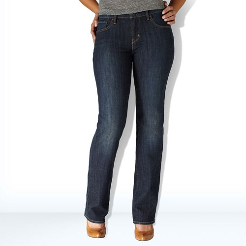 watch clients first official images Levi's Bold Curve ID Straight-Leg Jeans - Women's