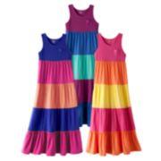 SO Colorblock Maxi Dress