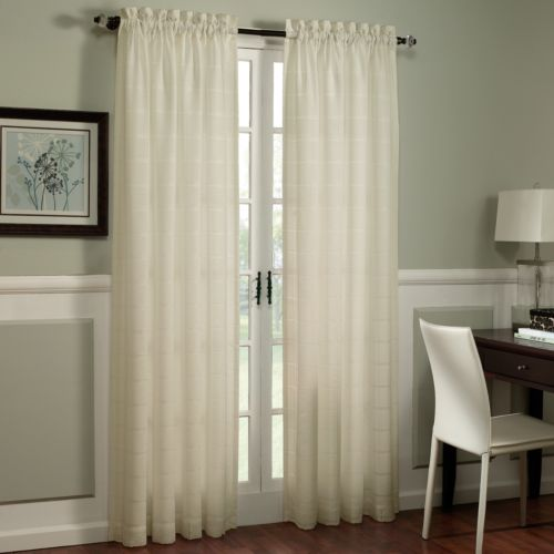 Home Classics® Ericson Sheer Window Panel - 54'' x 84''