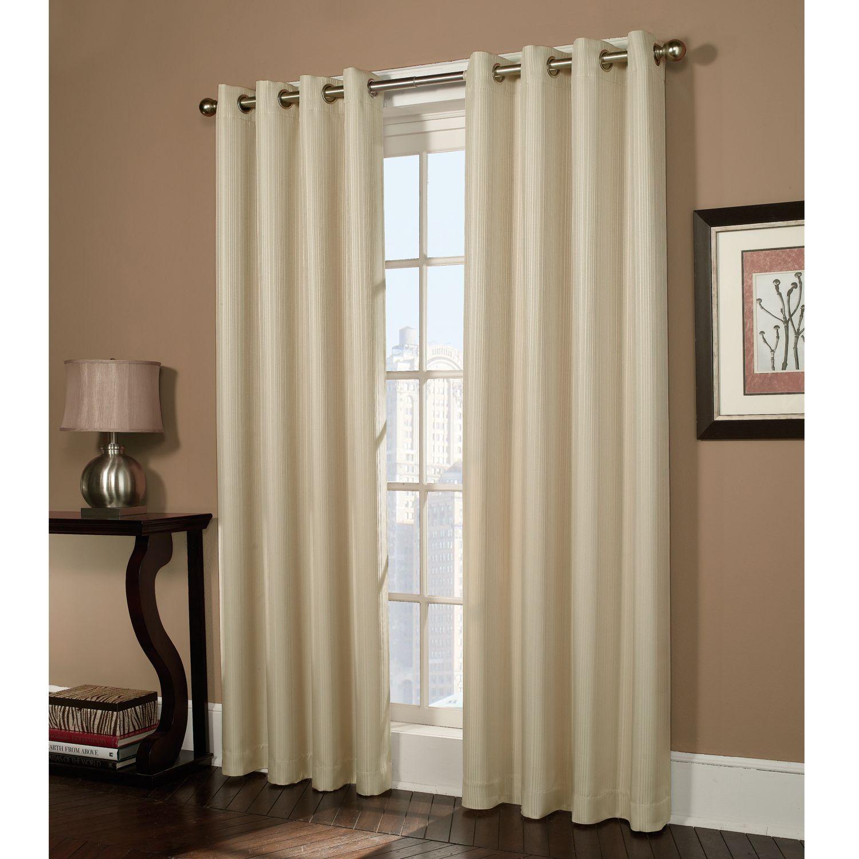 Home Classics Ethan Striped Blackout Window Panel 54 X