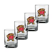 Maryland Terrapins 4-pc. Rocks Glass Set