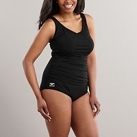 Plus Size Speedo® Endurance+ Solid One-Piece Swimsuit