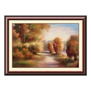 Changing Seasons Framed Art Print by Marc Lucien