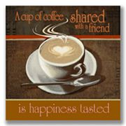 'Coffee with a Friend' Wall Art