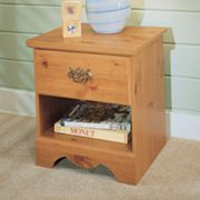New Visions by Lane Mountain Pine Nightstand