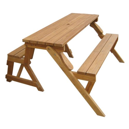 Merry Products Patio Picnic Table/Garden Bench - Outdoor