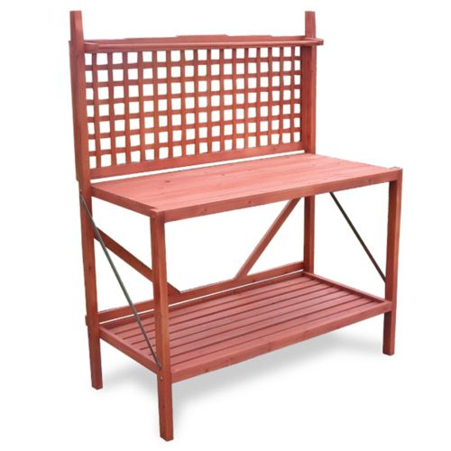 Merry Products Foldable Potting Bench - Outdoor