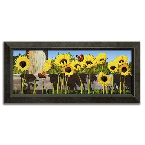 ''Summer Love'' Framed Canvas Art