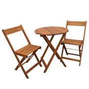 Merry Products 3-pc. Stained Bistro Set