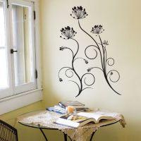 Dandelion Swirls Wall Stickers