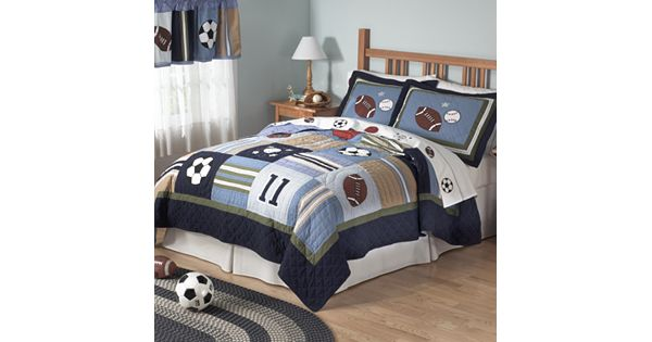 Pem America All State 3 Pc Quilt Set Full Queen