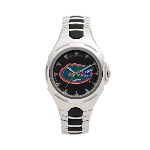 Game Time Victory Series Florida Gators Silver-Tone Watch - Men