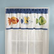 PEM America Colorful Sea Valance - 70'' x 20''