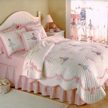 PEM America Ballet Lessons Quilt Set - Full/Queen