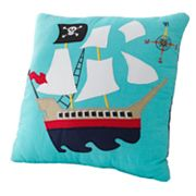 PEM America Pirate's Treasure Decorative Pillow