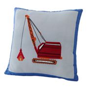 PEM America Trucks at Work Decorative Pillow
