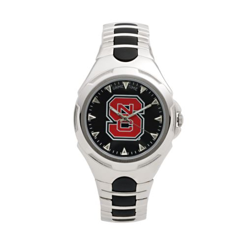 Game Time Victory Series North Carolina State Wolfpack Silver-Tone Watch - Men