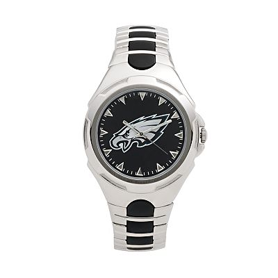 Game Time Victory Series Philadelphia Eagles Silver-Tone Watch - Men