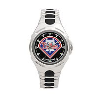 Game Time Victory Series Philadelphia Phillies Silver-Tone Watch - Men