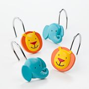 Jumping Beans Safari 12-pk. Shower Curtain Hooks