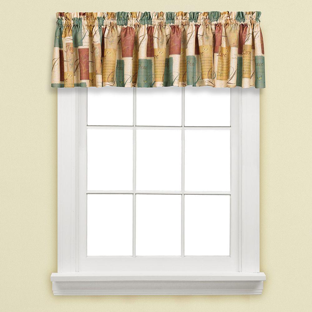 Tranquility Window Valance - 58'' x 13''