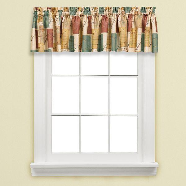 Tranquility Window Valance 58 X 13