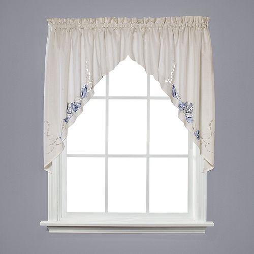 Seabreeze Swag Window Valance - 57'' x 36''