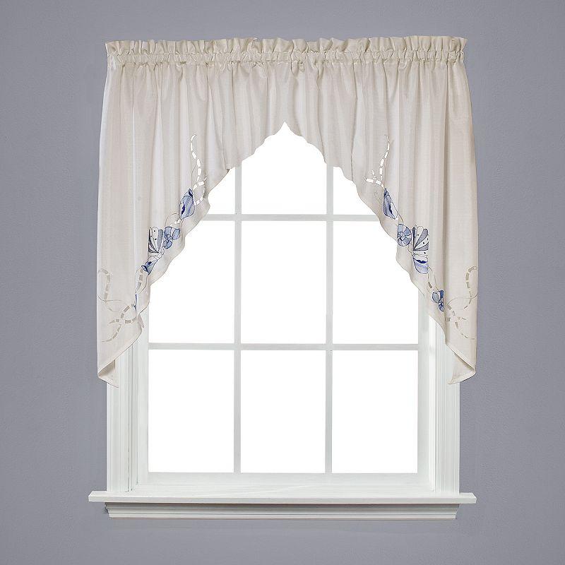 Swag window treatment kohl 39 s - Kohls kitchen curtains ...
