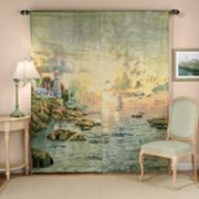 Thomas Kinkade Sea of Tranquility Window Panels - 72'' x 84''