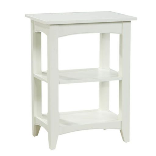 Alaterre 2-Shelf Shaker Cottage End Table