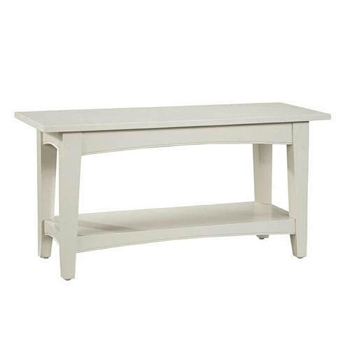 Alaterre Shaker Cottage Bench & Coffee Table