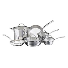 Farberware Millennium 10 pc Stainless Steel Cookware Set