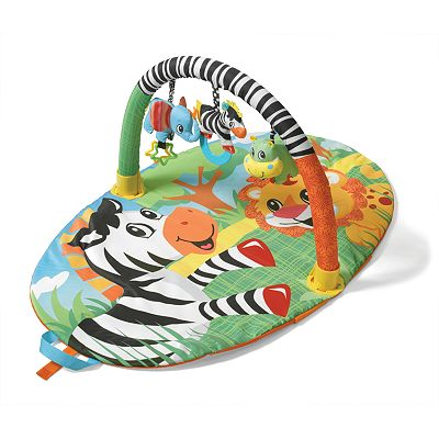 infantino Zebra Explore and Store Gym