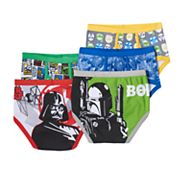 Star Wars The Clone Wars 5-pk. Briefs - Boys 4-8