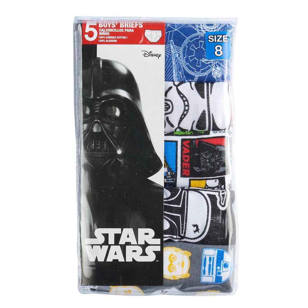 Boys 4-8 Star Wars The Clone Wars 5-pk. Briefs