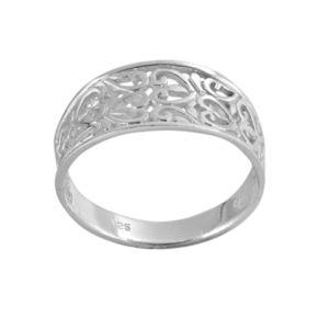 Sterling Silver Filigree Ring