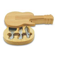Picnic Time Guitar Cheese Board Set