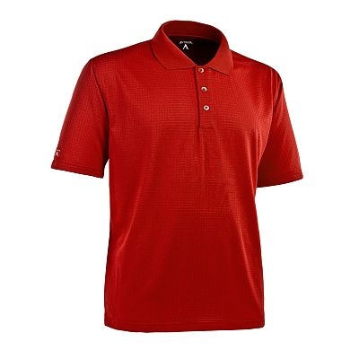 Antigua Phoenix Patterned Performance Polo
