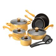 Paula Deen 12-pc. Teflon Nonstick Aluminum Cookware Set