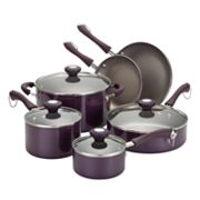 Paula Deen 10-pc. Teflon Nonstick Aluminum Cookware Set