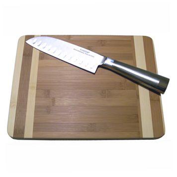 Oneida 2-pc. Cutting Board & Knife Set