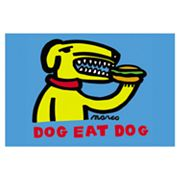 Dog Eat Dog Canvas Art by Marco