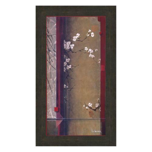 Blossom Tapestry I Framed Art Print by Don Li-Leger