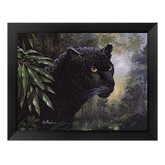 'Black Panther' Framed Art Print by Don Balke