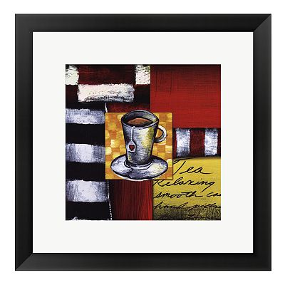 Steeping Tea Framed Art Print by Stacey Novak