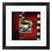 Brewing Coffee Framed Art Print by Stacey Novak