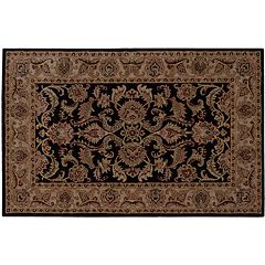 India House Floral Rug - 5' x 8'