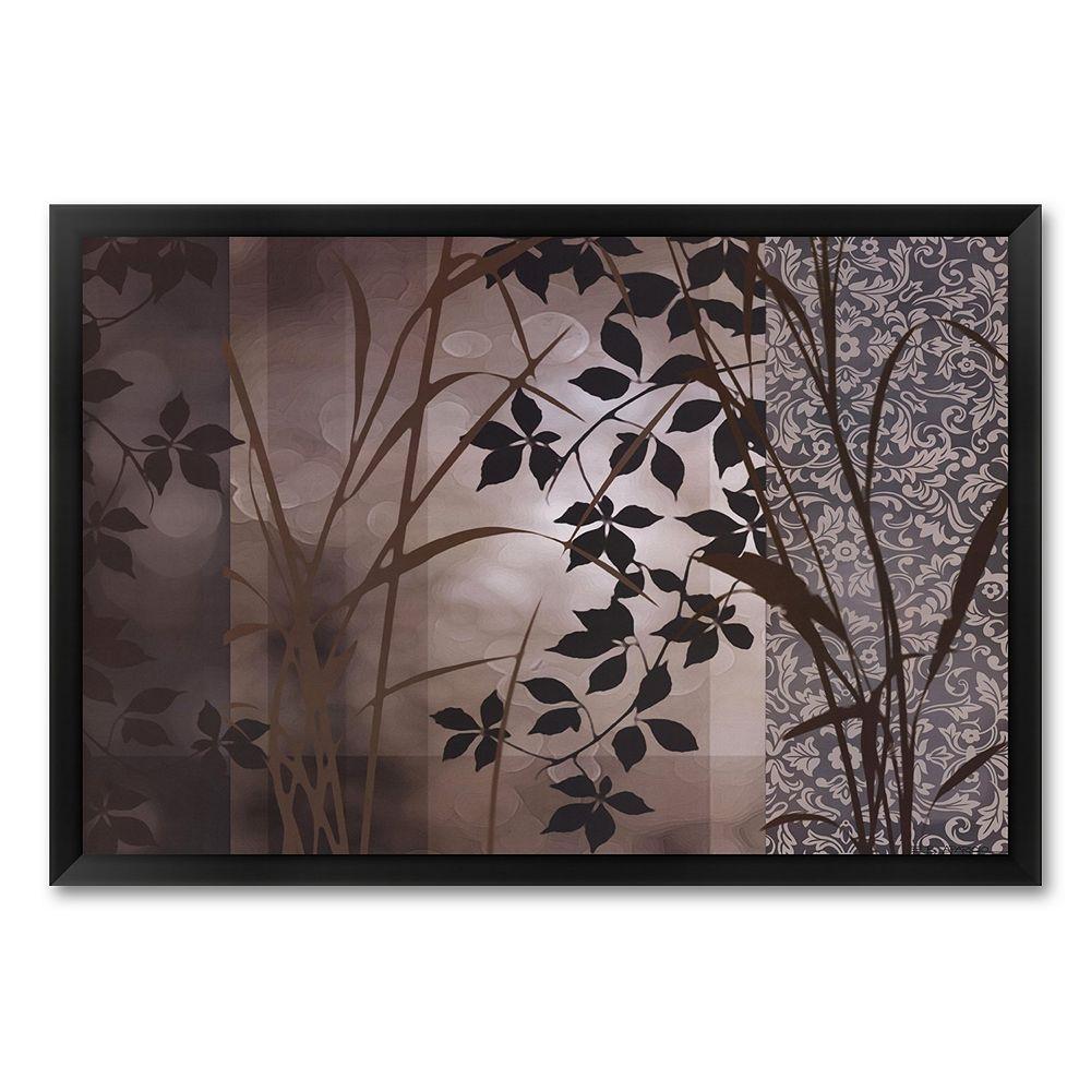 """""""Silver Whispers I"""" Framed Art Print by Edward Aparicio"""