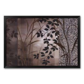 Silver Whispers I Framed Art Print by Edward Aparicio