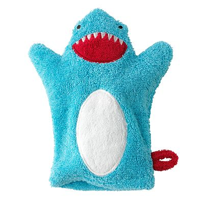 Jumping Beans Shark Wash Mitt